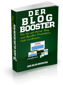 affiliate marketing, der blog-booster ebook mit mrr