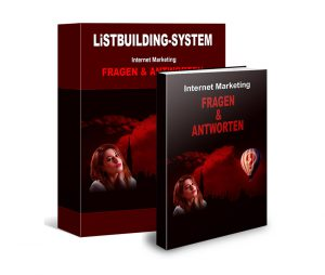 Internet Marketing Listenaufbau, listbuilding system