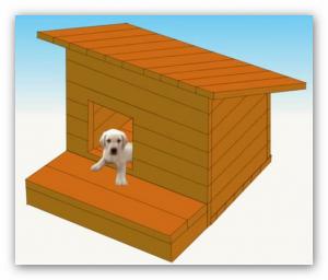 hundehuette bauen