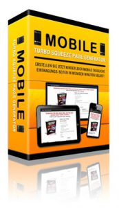Mobile Squeeze Page erstellen