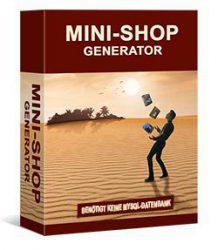 Mini Shop mit Generator erstellen, free-ebooks, Geld verdienen