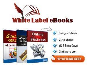 white label ebooks, Free-ebooks, Listenaufbau Geld verdienen, Leadgenerierung